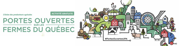 Journée de porte ouverte sur les fermes du Québec